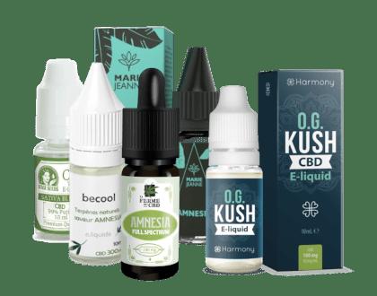 selection liquides cbd