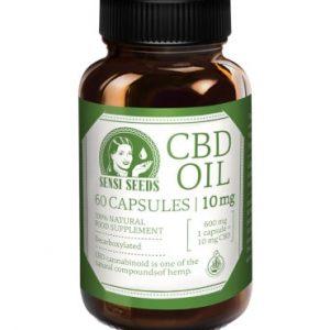 capsules huile cbd 10mg sensi seeds