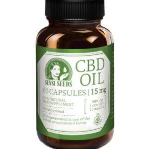 capsules huile cbd 15mg sensi seeds