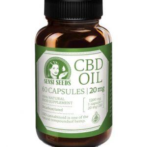 capsules huile cbd 20mg sensi seeds
