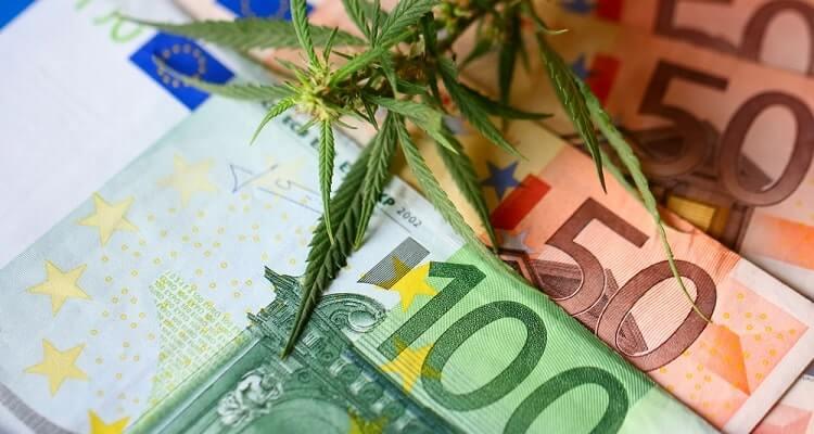 chanvre et billets euro