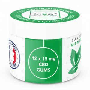 chewing gums cbd menthe 15mgx12 green owl 1