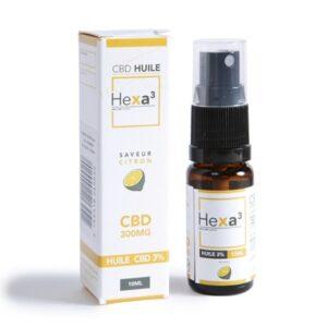 huile mct cbd 3% hexacube (citron)