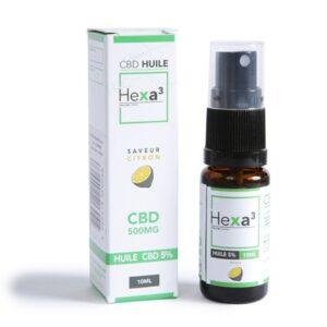 huile mct cbd 5% hexacube (citron)