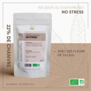 infusion cbd essentiel no stress bio 25g