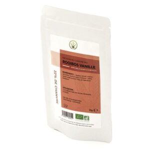 infusion cbd essentiel rooibos vanille bio 25g