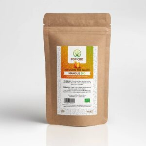 infusion cbd fruitée thé glacé mangue bio 35g green owl
