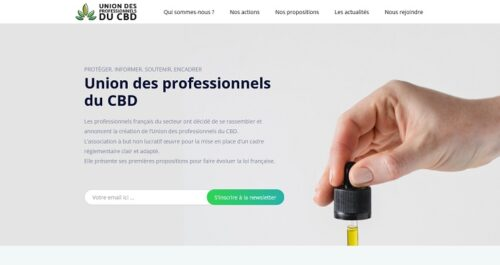 union professionnels cbd homepage