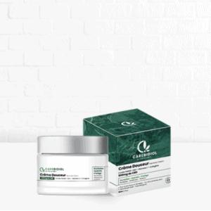 crème douceur 500 mg isolat pure cbd carebidiol