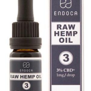 l'huile de cbd crue gouttes 300 mg cbd+cbda (3%) endoca